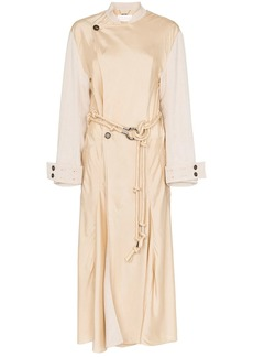 Chloé belted wrap trench coat