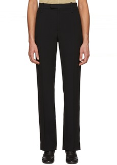Chloé Black Light Cady Trousers