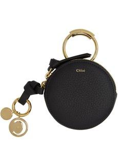 Chloé Black Small Coin Pouch
