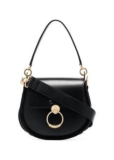 Chloé black Tess large leather shoulder bag