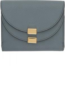 Chloé Blue Georgia Square Wallet