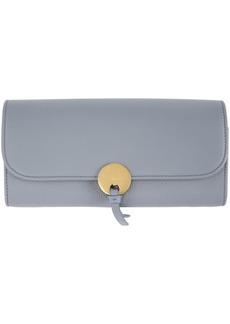 Chloé Blue Long Indy Wallet