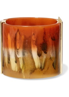 Chloé Bobby Gold-tone And Resin Cuff