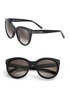 Chloé Boxwood 55MM Cat-Eye Sunglasses