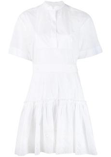 Chloé broderie anglaise shirt dress