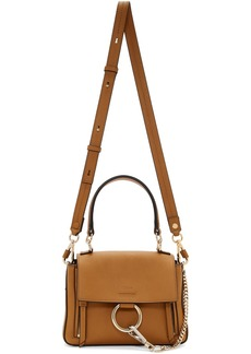 Chloé Brown Mini Faye Day Bag