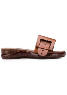 Chloé buckle detail slip-on sandals