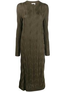Chloé cable knit jumper dress