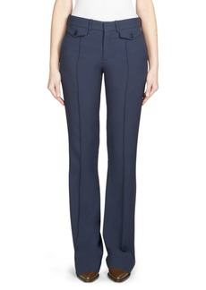 Chloé Cady Button-Front Trousers