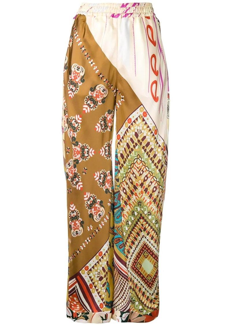 Chloé Caravan pyjama-style trousers