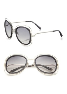 Carlina 56MM Square Sunglasses