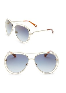 Chloé Carlina Aviators