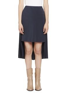 Chloé CDC High-Low Pleat Back Skirt