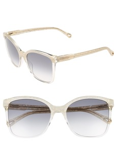 Chloé 59mm Brow Bar Sunglasses