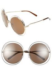Chloé 62mm Oversize Sunglasses