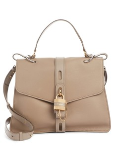 Chloé Aby Large Leather Shoulder Bag