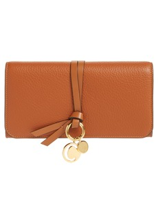 Chloé Alphabet Leather Wallet