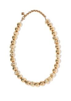 Chloé Anouck textured-bead necklace