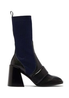 Chloé Bea sock-insert leather boots