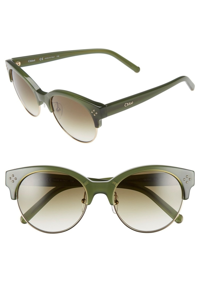 Chloé 'Boxwood' 54mm Sunglasses