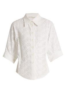Chloé Broderie-anglaise shirt