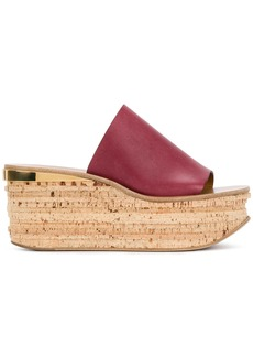 Chloé Camille wedges - Red