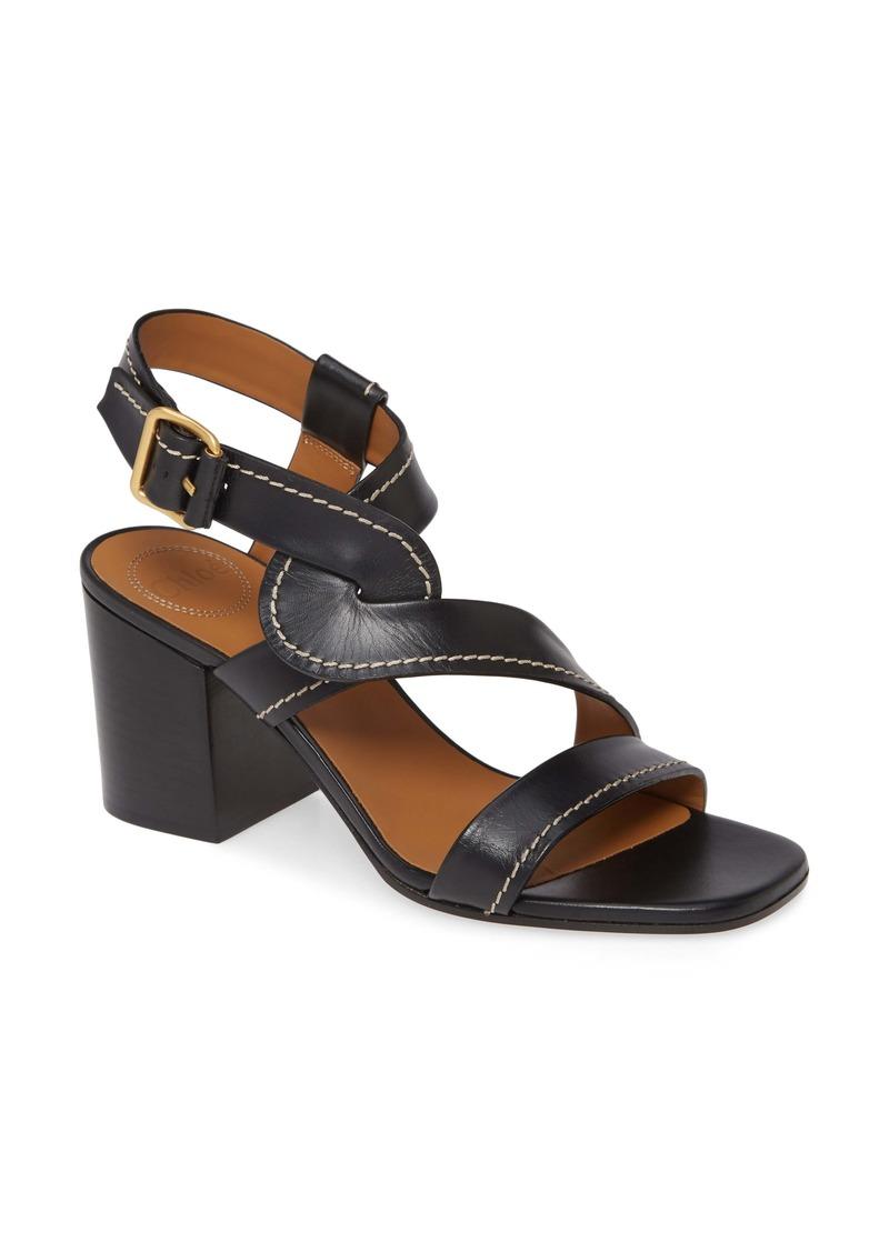 Chloé Candice Block Heel Sandal (Women)