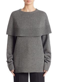 Chloé Cashmere Cape Sweater