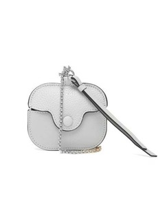 Chloé Chain-strap leather AirPods Pro case