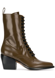 Chloé 60 lace-up boots