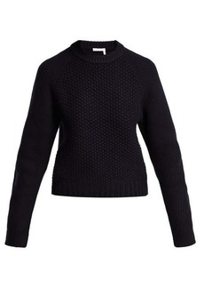 Chloé Chunky-knit wool-blend sweater