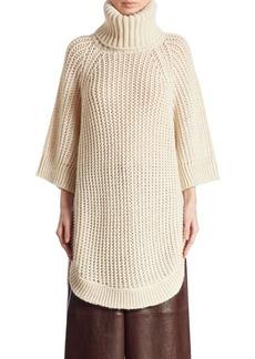 Chloé Chunky Oversize Turtleneck Sweater