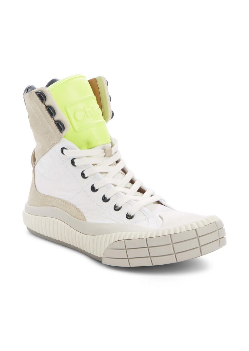 Chloé Clint High Top Sneaker (Women)