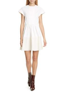 Chloé Coated Linen Dress