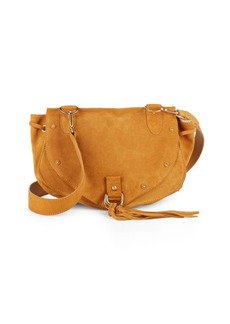 See by Chloé Collins Suede Saddle Bag