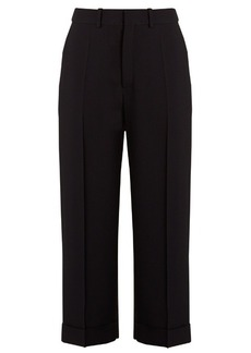 Chloé Crepe pleated trousers
