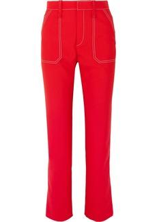 Chloé Crepe Slim-leg Pants