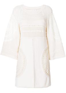 Chloé crochet shift dress