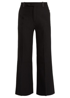 Chloé Cropped mid-rise trousers