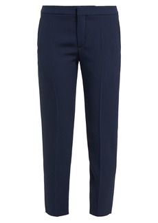 Chloé Cropped tailored crepe trousers
