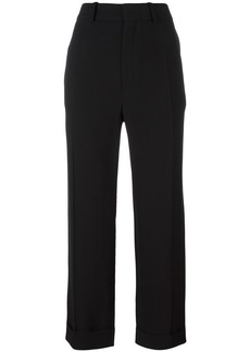 Chloé cropped tailored trousers - Black