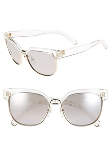 Chloé 'Dafne' 57mm Gradient Sunglasses
