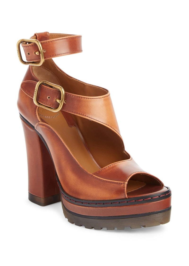 Chloé Daisy Ankle Strap Platform Sandal (Women)