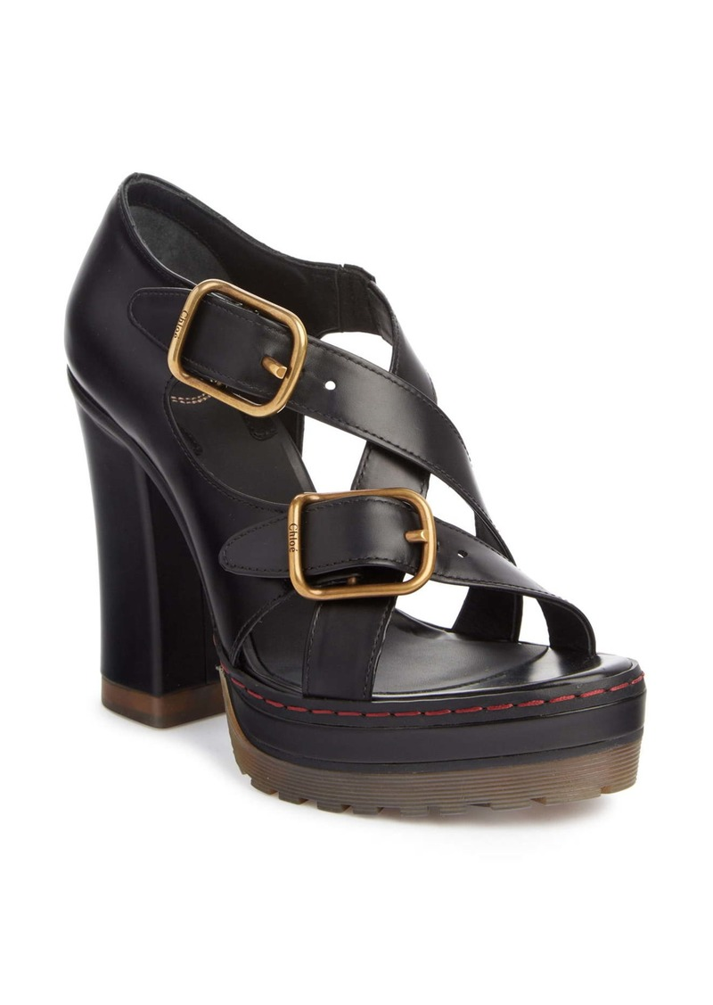 Chloé Daisy Platform Strap Sandal (Women)