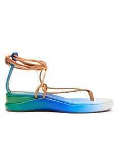 Chloé Degradé leather sandals