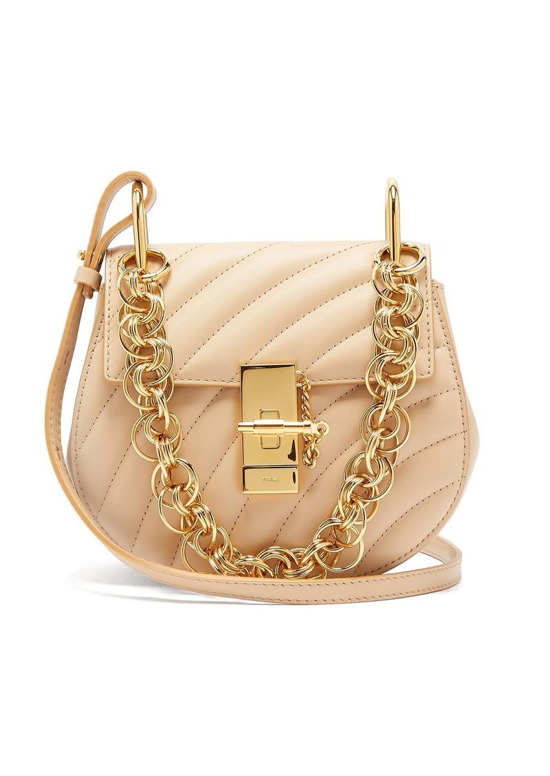 21a14328f4d On Sale today! Chloé Chloé Drew Bijou mini leather cross-body bag