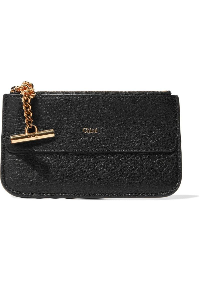 27f97206325b6 Chloé Chloé Drew textured-leather cardholder | Handbags