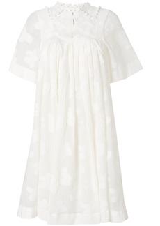 Chloé embroidered mini dress - White