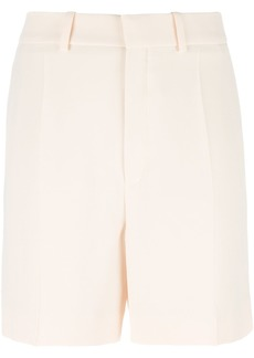 Chloé embroidered trim tailored shorts - Nude & Neutrals