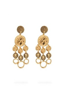 Chloé Emoji Femininities chandelier drop earrings